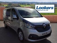 Renault Trafic LL29 SPORT NAV ENERGY DCI CREW (silver) 2016-09-15
