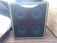 Ashdown 410t 600 bass cab like new