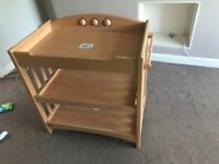 Excellent condition Mamas & Papas cot bed and changing station