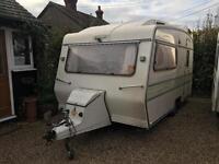 Carlight 2 berth caravan classic