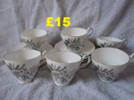 Regency English Bone China Tea Set