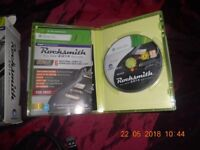 Rocksmith: 2014 Edition (Microsoft Xbox 360, 2013) With Real tone cable lead LIKE NEW...