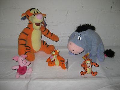 Winnie Pooh 5er Plüschgeschenkeset von Winnie the Pooh Esel Tiger Schweini