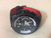 New Swiss Tag Heuer Grand Carrera LEATHER STRAP Automatic Watch, See through back
