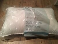 3 John Lewis 'soft touch washable pillows