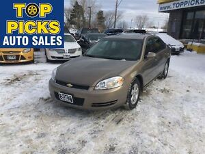 2007 Chevrolet Impala LT, LOW MILEAGE,SUNROOF, ALLOY WHEELS, POW