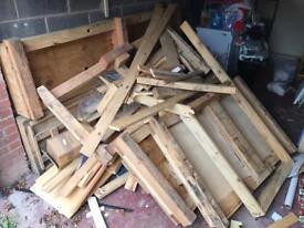 Free wood timber