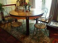 Dining table and 6 chairs...