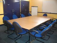 Training Room for Hire, buy five days and get the sixth one for free.