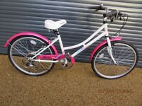 GIRLS APOLLO TRADITIONAL BIKE IN ALMOST NEW CONDITION, (IDEAL PRESENT).. SUIT APPROX. AGE. 8 / 9+..