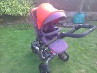 Jane Rider Pushchair Parent facing / forward facing option 3 wheeler
