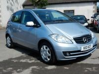 2009 mercedes A-class se classic petrol with only 52000 miles, motd june 2019