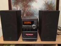 Sony Cd player, radio, tape & recorder