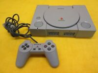SONY PLAYSTATION ONE PS1 GREY CONSOLE COMPLETE - LARGE