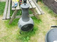 Garden log burners