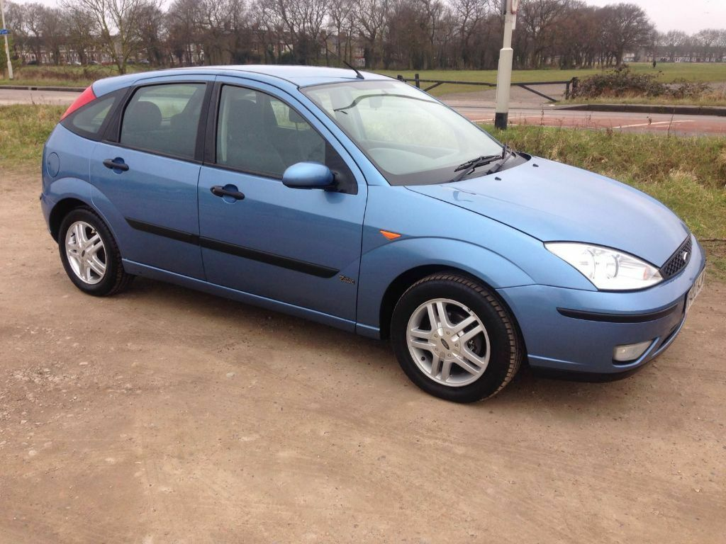 ford focus zetec 2002 automatic 1 6 blue 5 door hatchback 2 keys service book mot in manor. Black Bedroom Furniture Sets. Home Design Ideas
