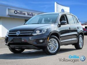 2016 Volkswagen Tiguan Bluetooth, Sunroof, Push Start,AWD