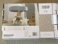 Mamas & Pappas Millie & Borris cot mobile in excellent condition & comes with original packaging