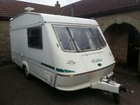 elldiss 2 berth caravsn mint condition