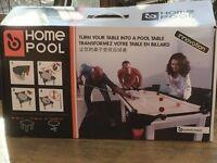 Home Pool table kit