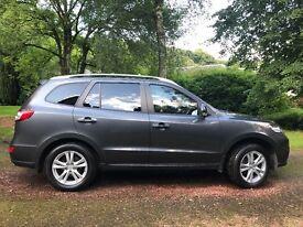 Hyundai Santa Fe Premium 2.2CRDi 5seats 2011 *Very low Mileage* FSH MOT Jan 2018