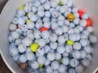 Collection of 200 used Golf Balls