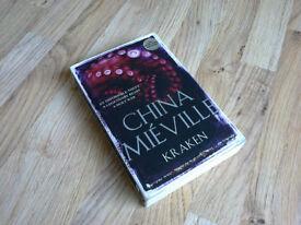 """Kraken"" by China Miéville, paperback – read once"