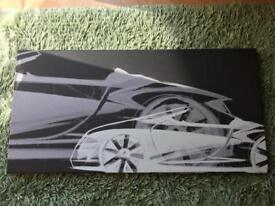 VW group wall art picture £5 each