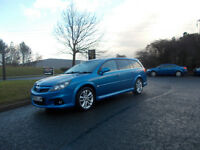VAUXHALL VECTRA VXR ESTATE 6 SPEED STUNNING BLUE NEW SHAPE 2005 BARGAIN ONLY 2950 *LOOK* PX/DELIVERY