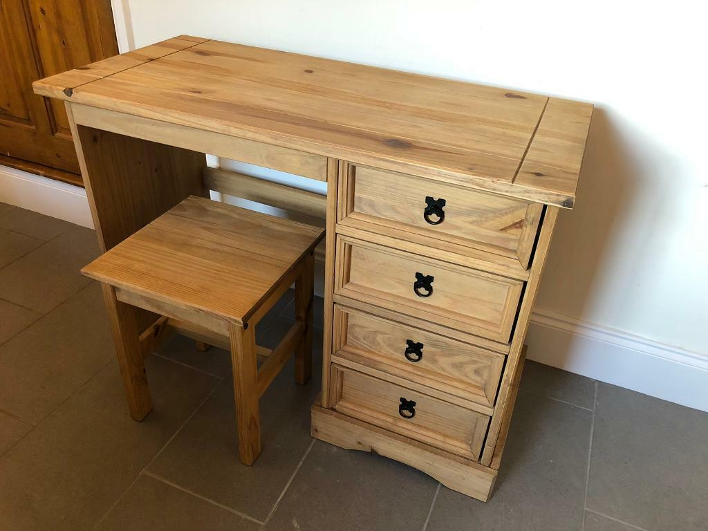 size 40 9b397 e156c Corona Pine Dressing Table and Stool | in Hinckley, Leicestershire | Gumtree