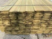 Timber, wood, SHIPLAP, Treated, 4.8m cladding, sheds