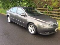 2007 MAZDA 6 2.0 TS 143 DIESEL # FULL YEARS M.O.T# 6 SPEED # SOLD WITH 3 MONTHS WARRANTY INCLUDED
