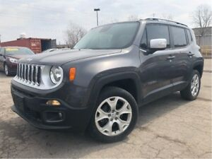 2016 Jeep Renegade Limited MY SKY MOON ROOF LEATHER NAV
