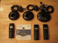 For Sale, Set of 3 Cordless Telephones
