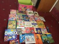 Kids books and games