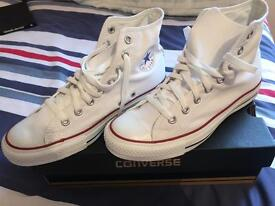 Brand new Ox White converse