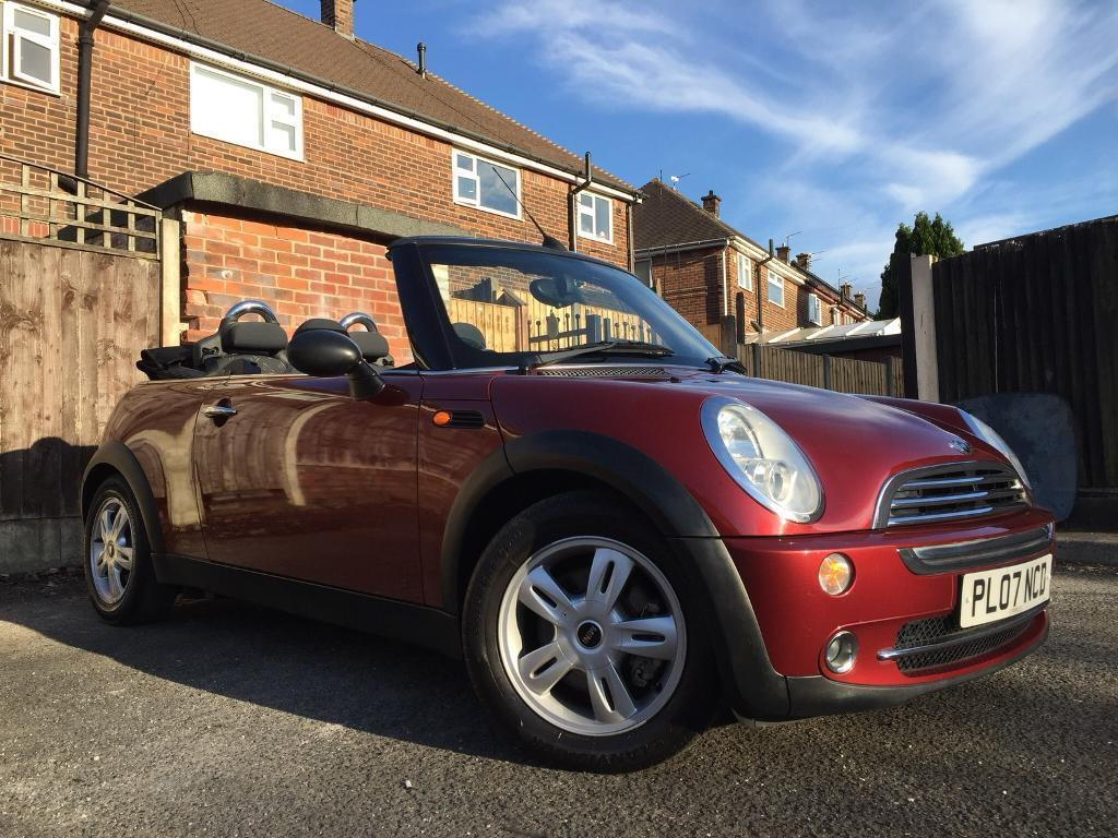 Mini One Convertible 2007 Low Miles Long Mot In