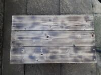 Bespoke rustic coffee table