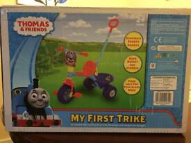 My first trike Thomas and friends