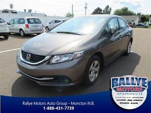 2013 Honda Civic LX! Heated! Bluetooth! Traction!
