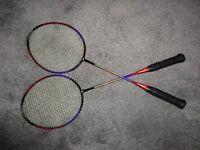 2 Badminton Racquets - NEW
