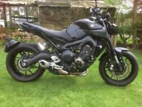 Yamaha MT. 09. ABS. Hyper Naked. 2017