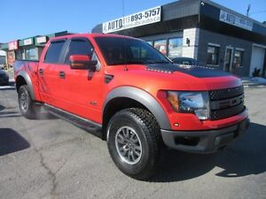 2011 Ford F-150 SVT Raptor 6.2 L 4x4 NAVI-LEATHER-ROOF