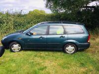 Bargain Ford Focus estate petrol 2 lady owners full mot