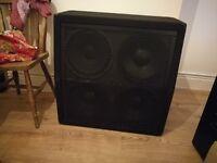Carlsbro 4x12 300 watt 1/2 stack guitar cabinet