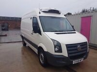 VOLKSWAGEN CRAFTER 35 BL TDI136 MWB FRIDGE/FREEZER AUTOMATIC SA 2009REG FOR SALE