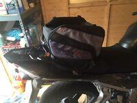 Tank bag/ tail bag for sale