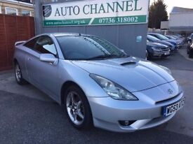 Toyota Celica 1.8 VVT-i 3dr£2,495 p/x welcome NEW MOT!!! FINANCE AVAILABLE