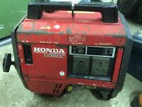 Honda suitcase generators