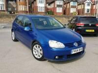 2005 VW GOLF 2.0 GT FSI MANUAL 5 DOOR BLUE FULL HEATED LEATHERS 12 MONTHS MOT